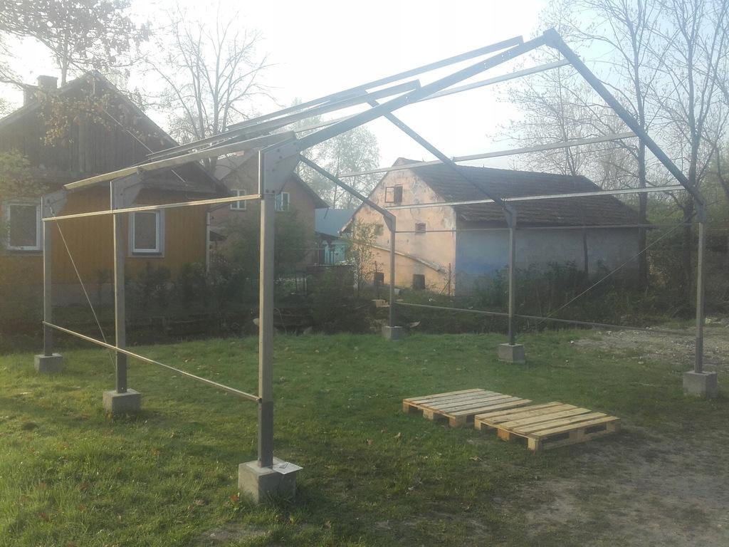 Hala Garaż Wiata Konstrukcja 6.5x6x3.5