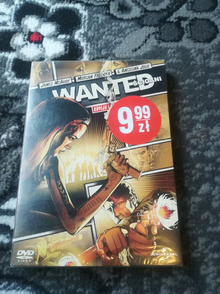 Wanted. Ścigani DVD