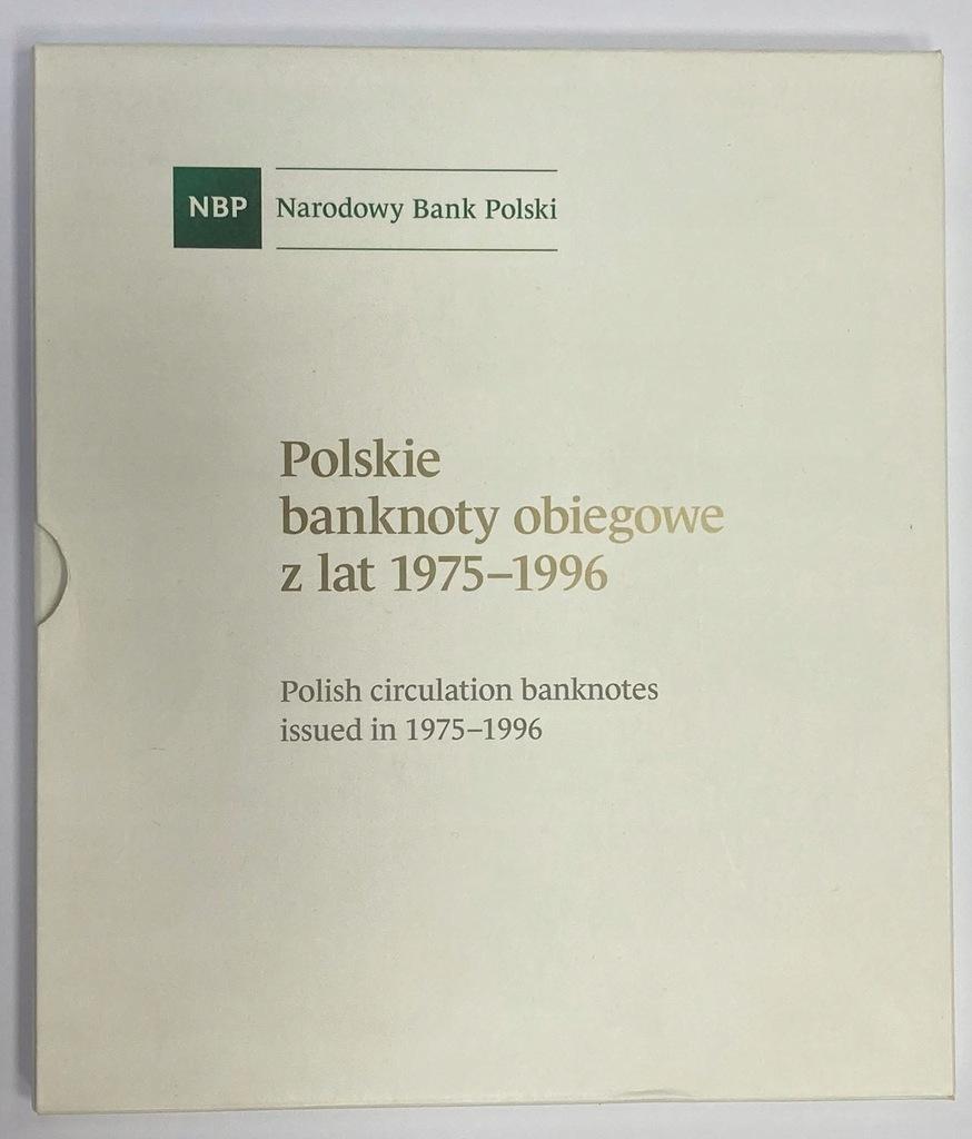 Pusty album na polskie banknoty obiegowe 1975-1996