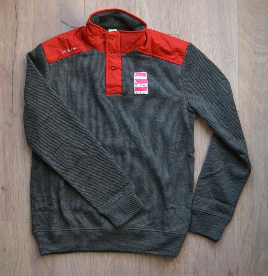 Sweter żeglarski Tribord - nowy, rozmiar L
