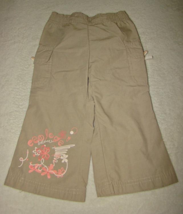 Wygodne lekkie spodnie r. 80 Coccodrillo
