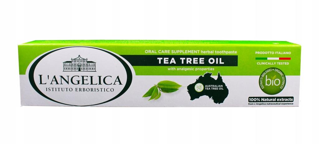 L'ANGELICA Pasta NATURALNA Tea tree Oil 75ml