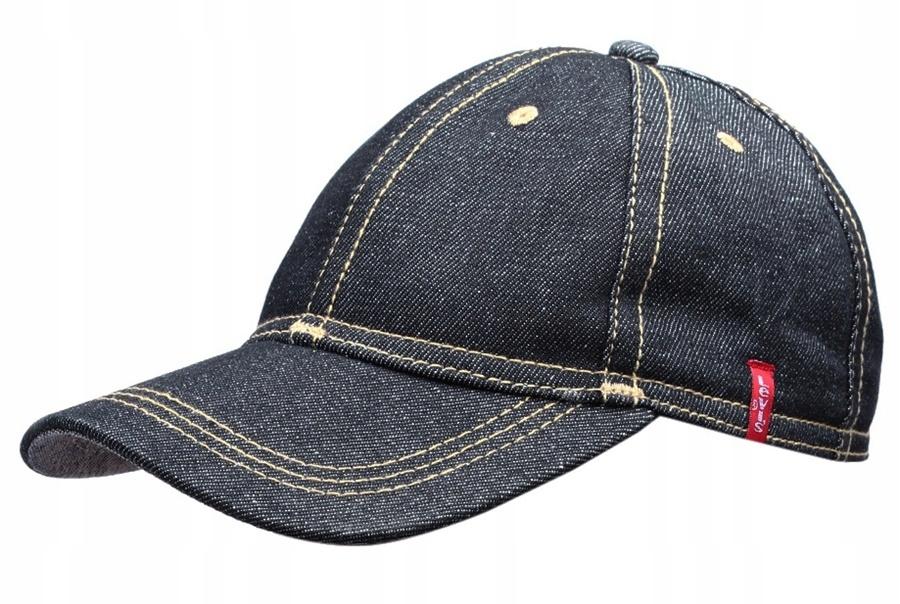 LEVIS czapka z daszkiem JEANS