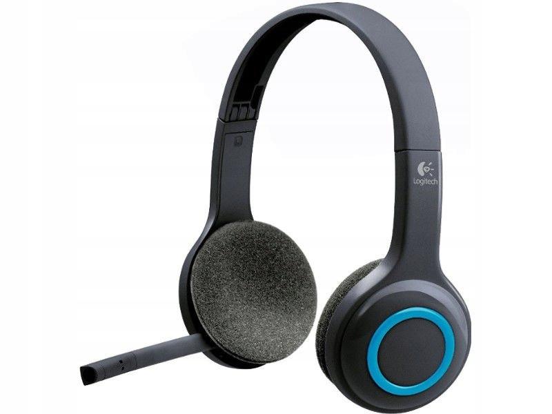 bezprzewodowe słuchawkiz mikrofonem Logitech H600