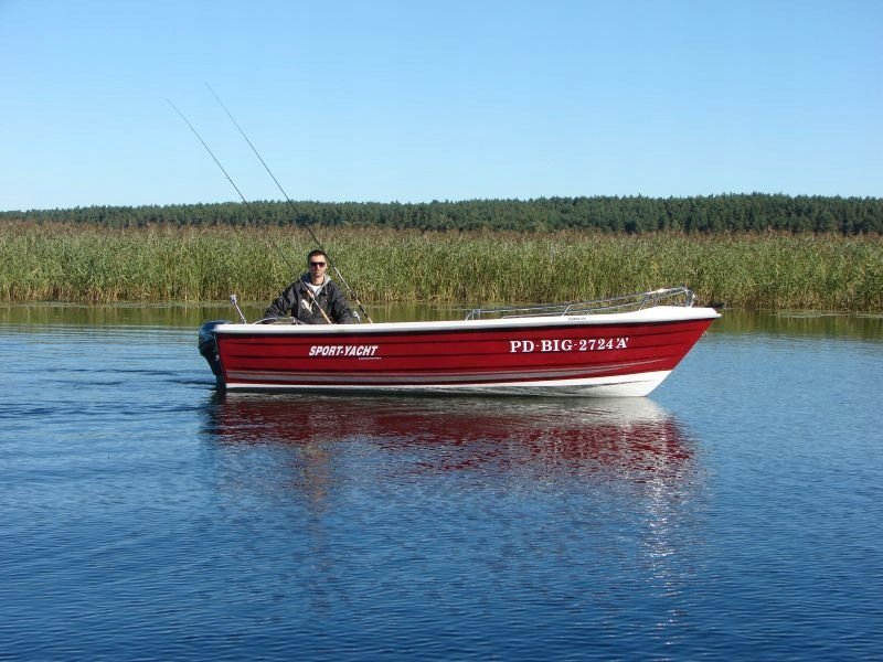 Łódź łódka wędkarska CLASSIC 470 Simply