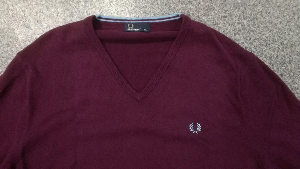 Sweter Fred Perry XXL pulower