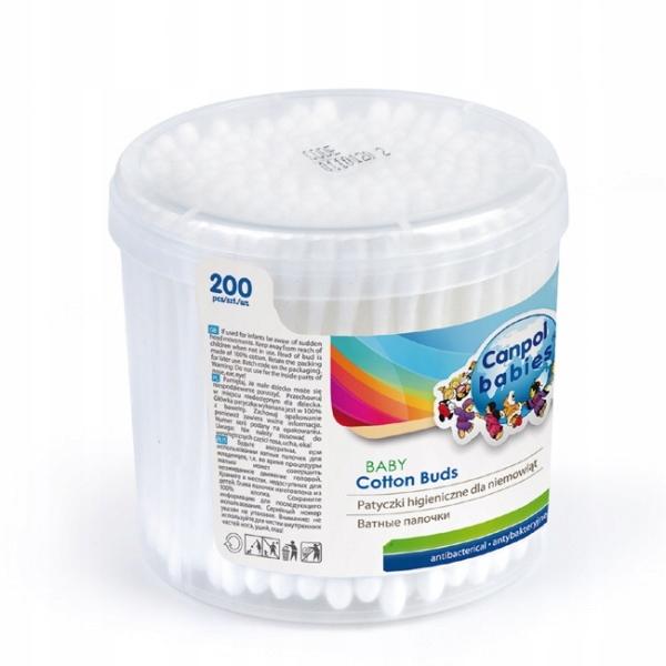 Patyczki higieniczne dla niemowląt 200 szt