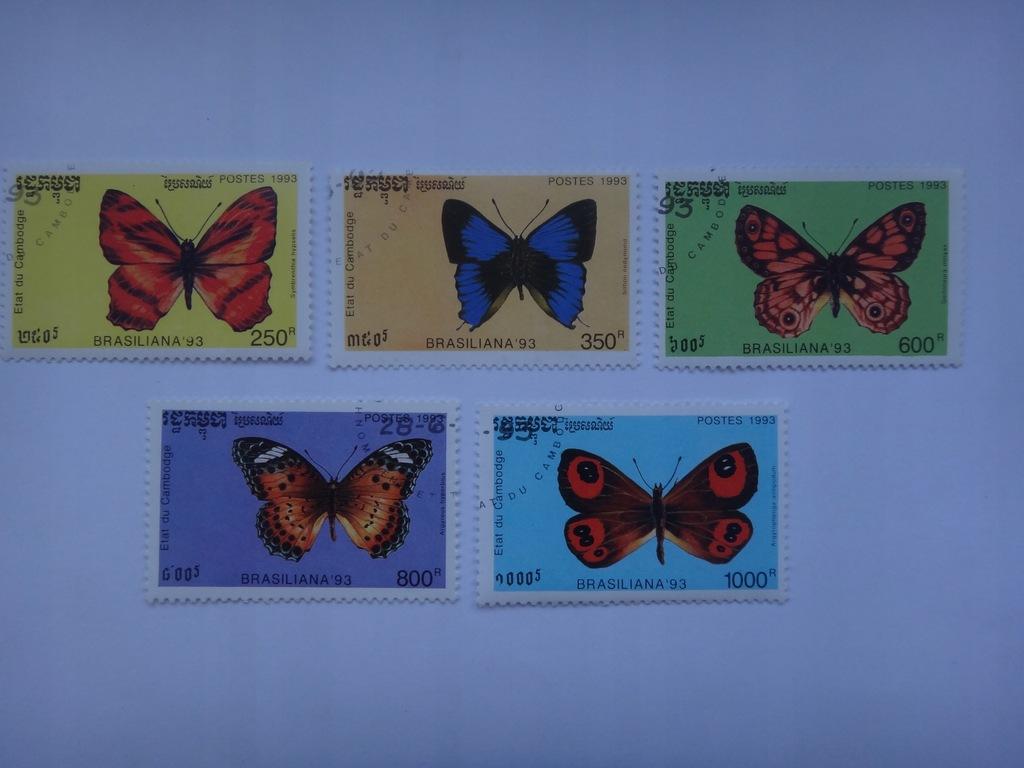 Kambodża 1993 , Motyle