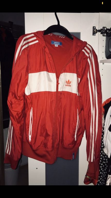 Bluza ortalion Adidas originals oldschool M