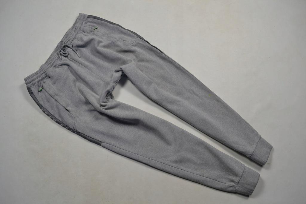 HUGO BOSS GREEN spodnie dresowe bawełniane XL
