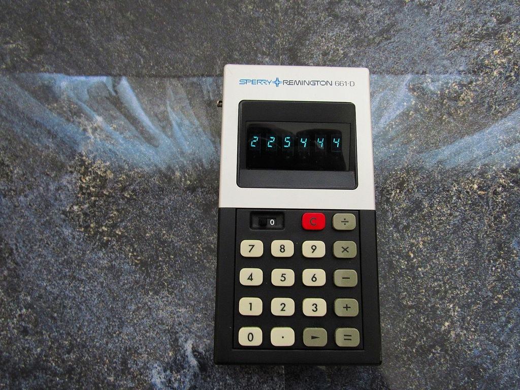 Zabytkowy kalkulator REMINGTON 661-D Unikat