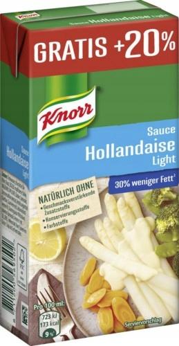 Sos Holenderski Knorr Light 300 ml DE NIEMIECKIE!