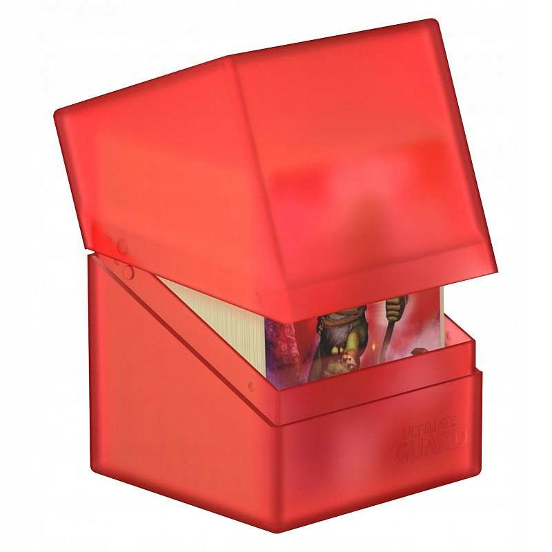 Pudełko Ultimate Guard Boulder 100+ Czerwone
