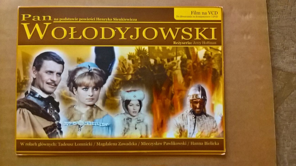 Pan Wołodyjowski 3 x VCD