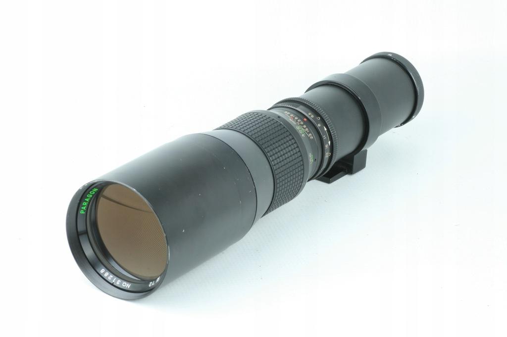 teleobiektyw PARAGON f=400mm 1:6.3 JAPAN