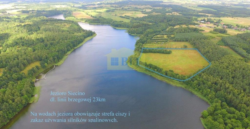 Działka, Chlebowo, Ostrowice (gm.), 50100 m²