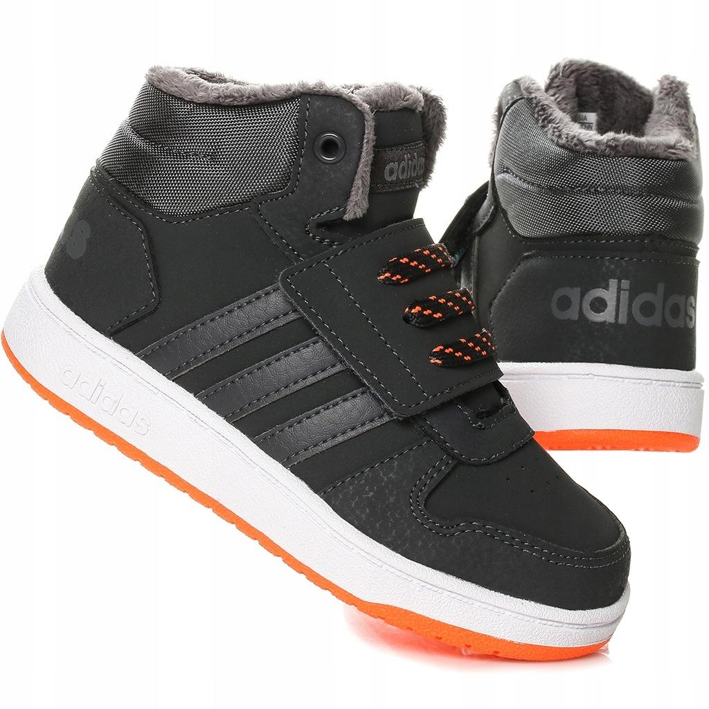 Buty dziecięce Adidas Hoops Mid B75944 Różne r.