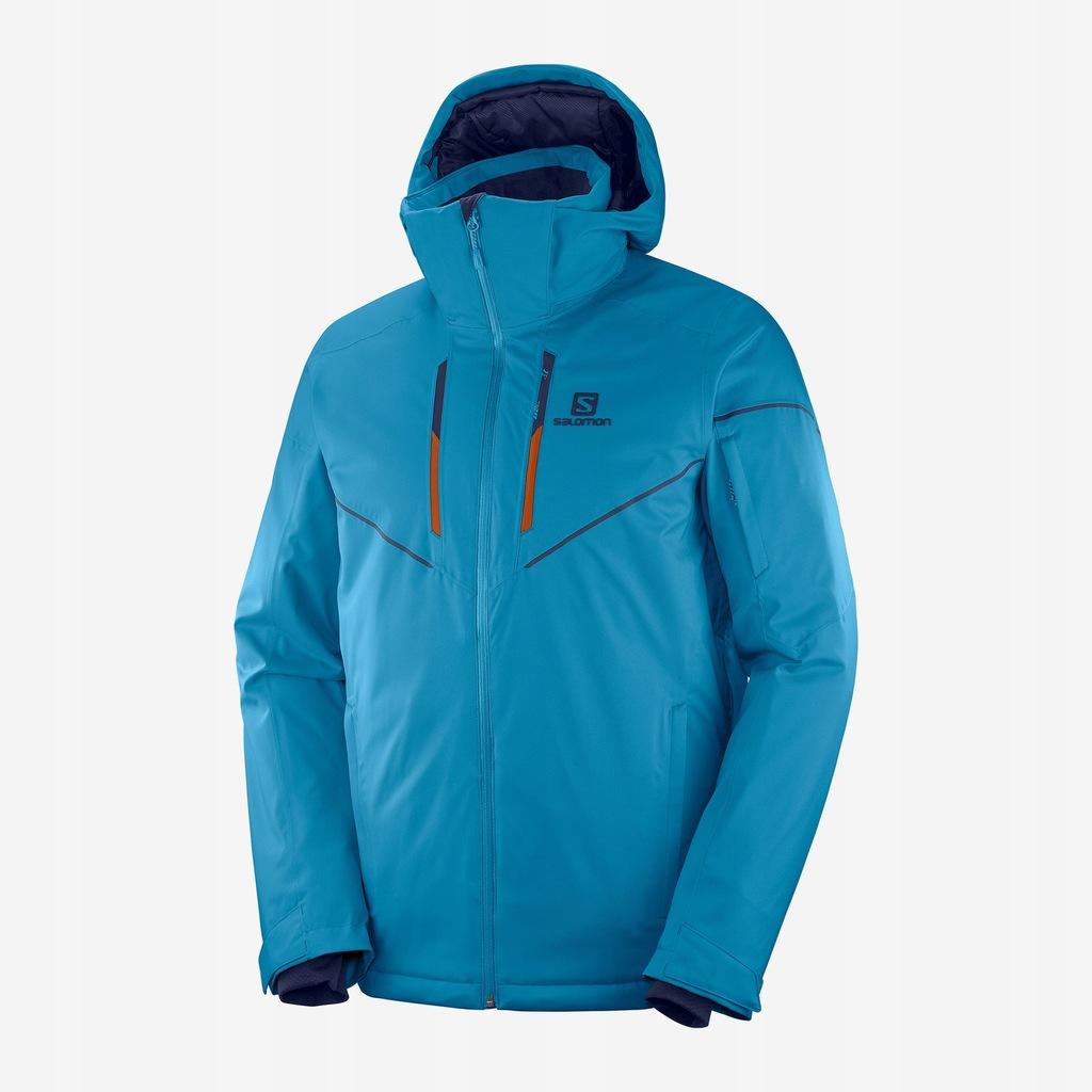 Salomon Stormrace kurtka męska blue niebieska S