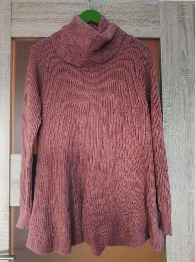 Śliczny sweterek golf NEXT 44