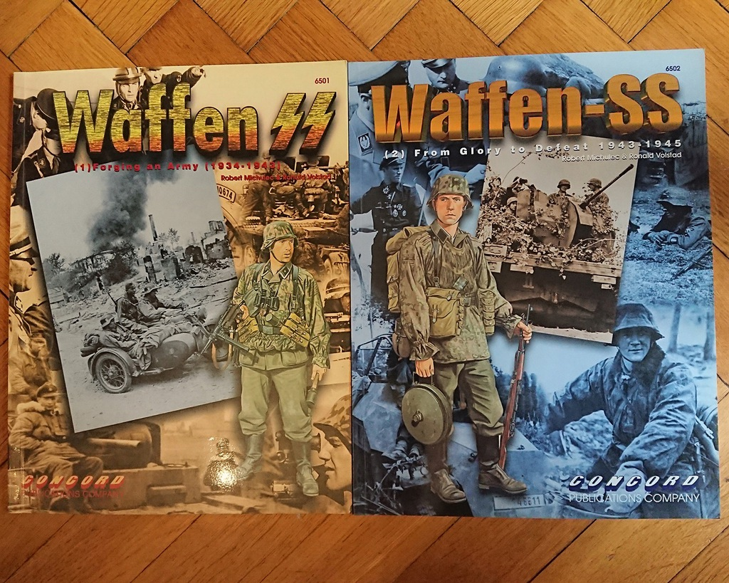 WAFFEN SS 1934-1945 - komplet 2 albumów CONCORD