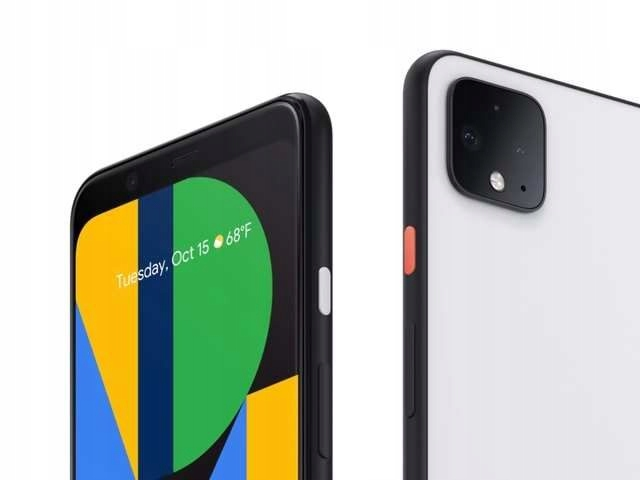NEW * Google Pixel 4 64GB Clearly White_Case_GW
