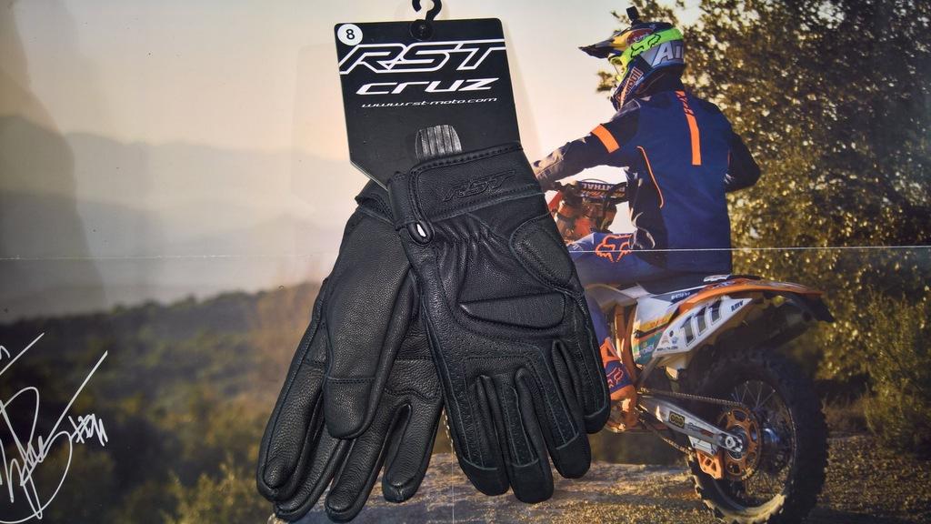 Rękawice RST Cruz Black roz. S