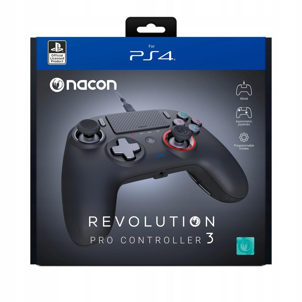Wynajem NACON PS4 Pad Przewodowy Revolution Pro 3