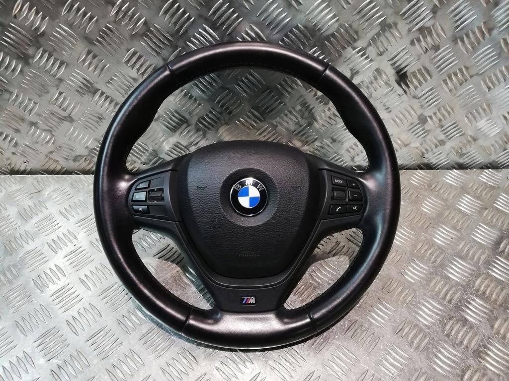 BMW X3 F25 F26 MPAKIET KIEROWNICA AIRBAG KOMPLET