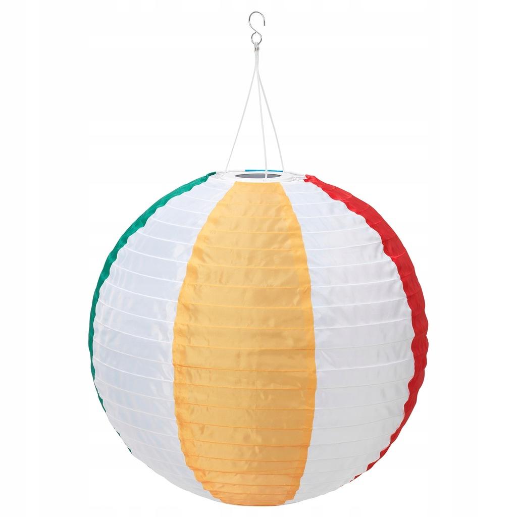 IKEA SOLVINDEN Lampa wisząca na energię słon. LED