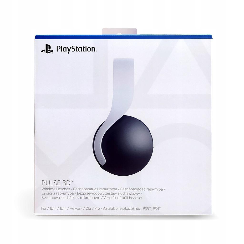 Sony PlayStation 5 Pulse 3D Wireless Headset NOWE!