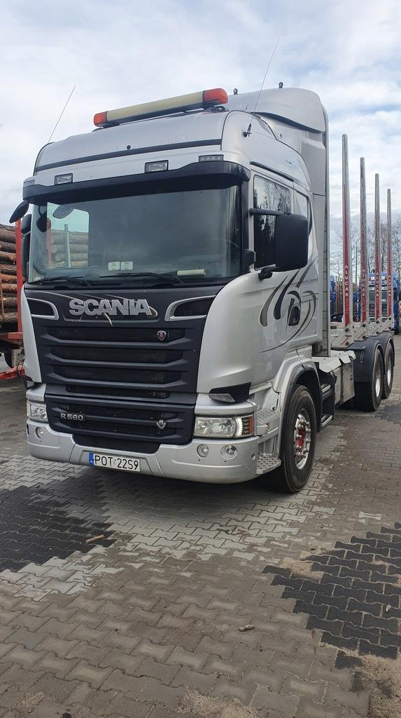 Scania R560 6x4 Do Drewna 8624278748 Oficjalne Archiwum Allegro
