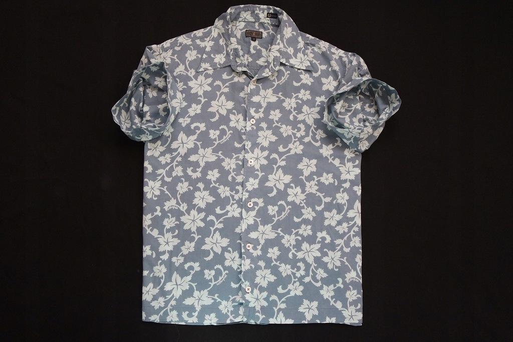 COTTONFIELD koszula niebieska kwiaty logowana__M/L