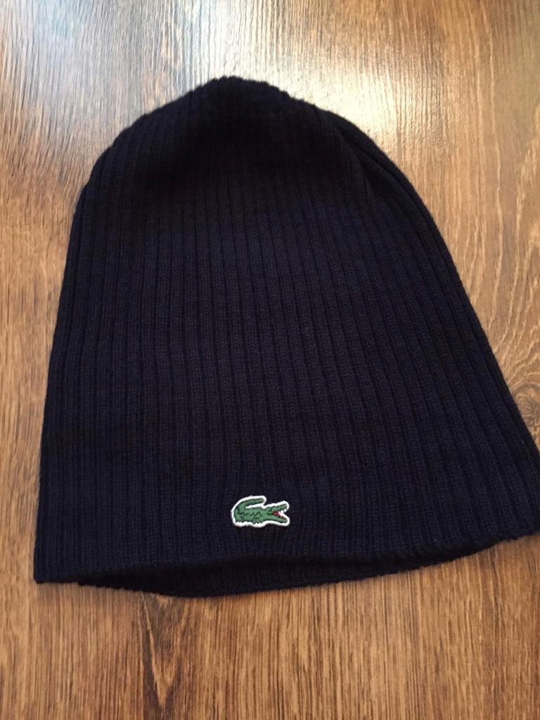 Lacoste czapka zimowa