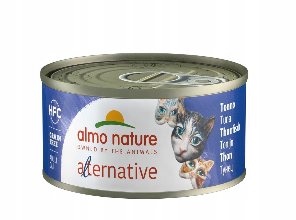 ALMO NATURE ALTERNATIVE tuńczyk 70g