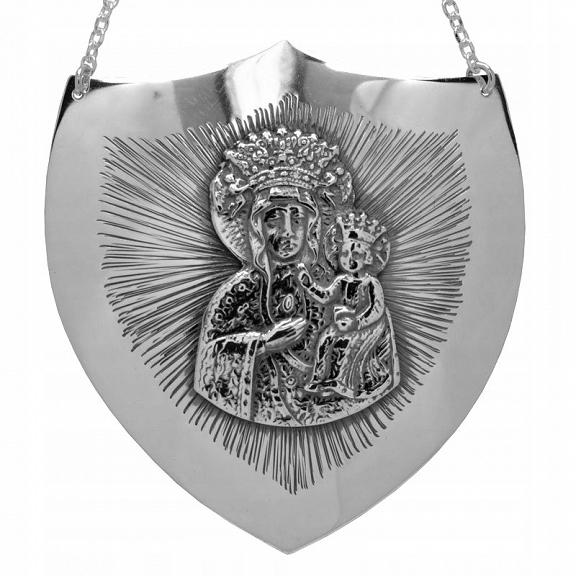 Ryngraf z Maryją srebro 0,925 W-wa!!!