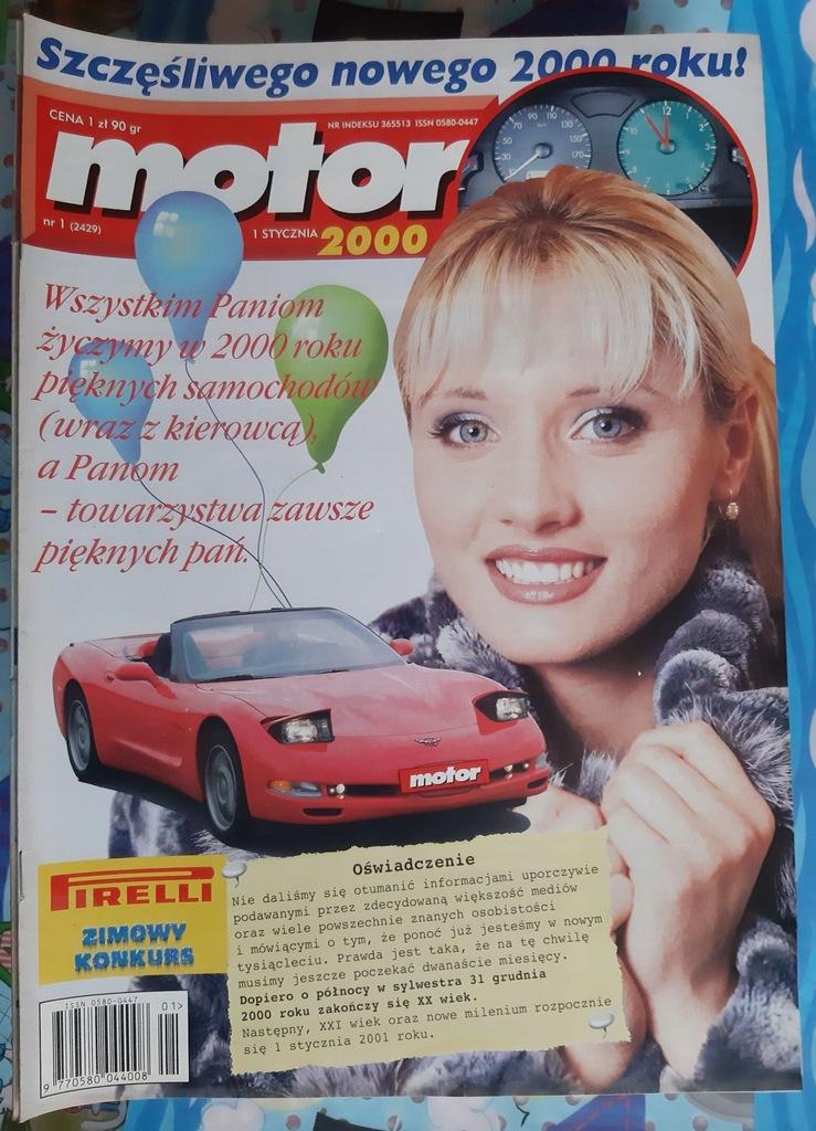 Motor ROCZNIK 2000