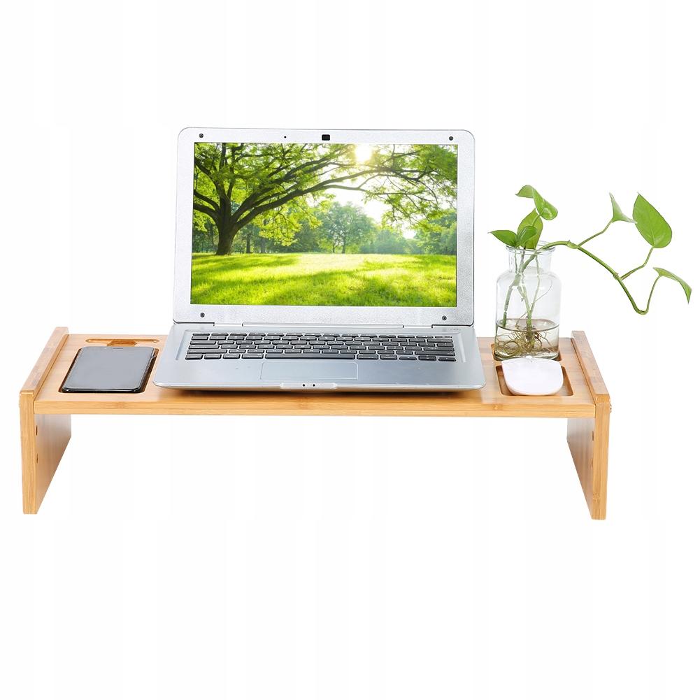 Podstawka bambus monitor, pod