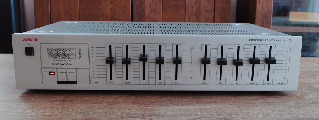 UNITRA DIORA FS 042 korektor stereo, HIFI.