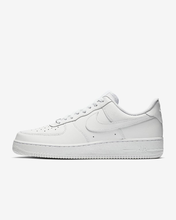 NIKE AIR FORCE 1 WHITE LOW 44.5