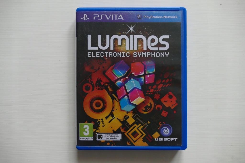 LUMINES ELECTRONIC SYMPHONY PS VITA PSV NAJTANIEJ