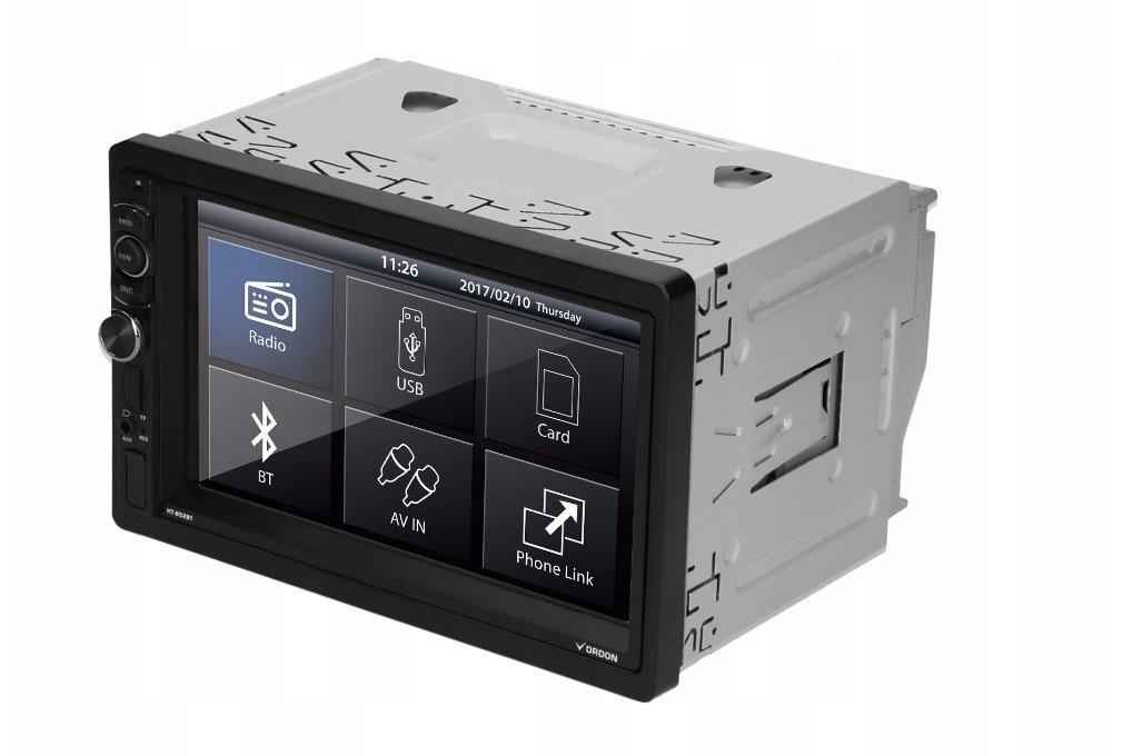 Radio samochodowe Vordon HT-852BT + kamera cofania