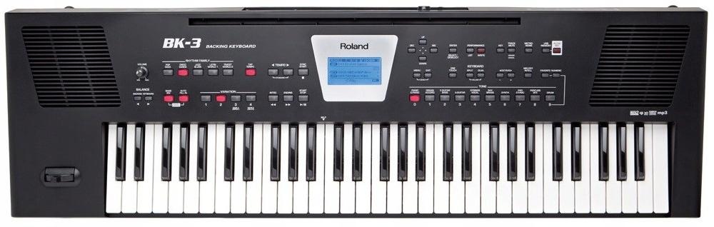 Roland BK-3 Keyboard z MP3