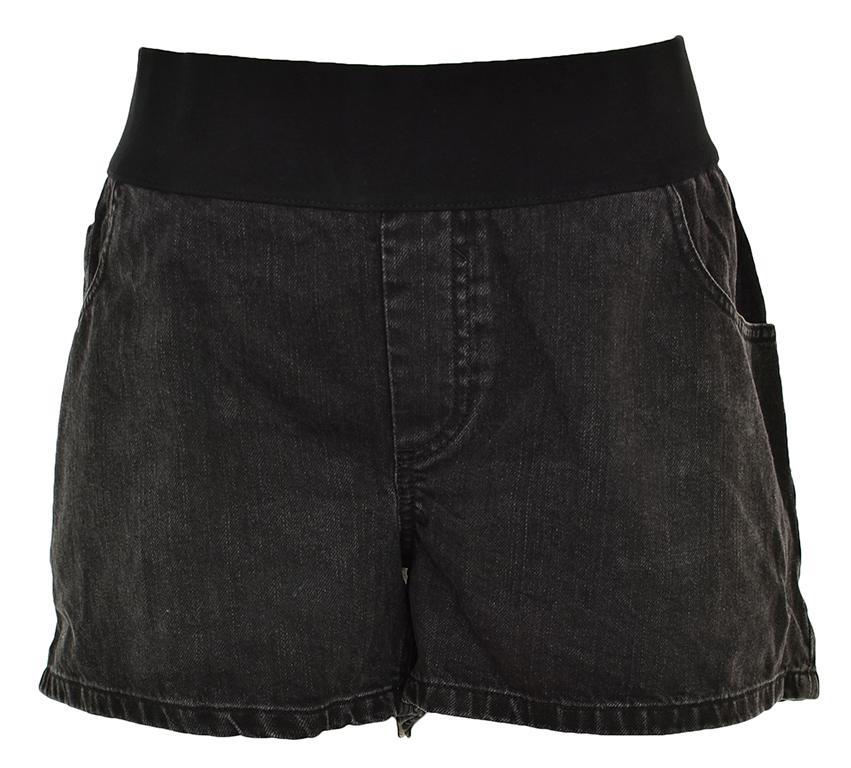 pBH7505 ASOS modne jeansowe spodenki w gumę 48