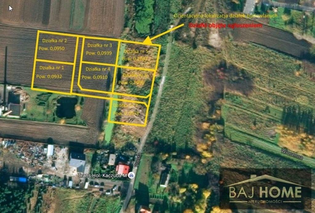 Działka, Kwidzyn, Kwidzyński (pow.), 932 m²