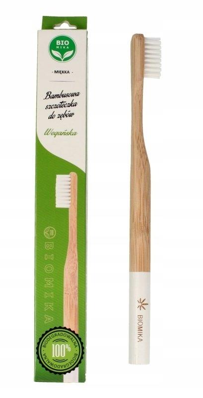Biomika Szczoteczka do zębów bambusowa miękka - bi