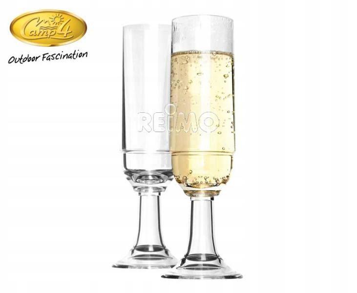 Kieliszki do szampana 2szt