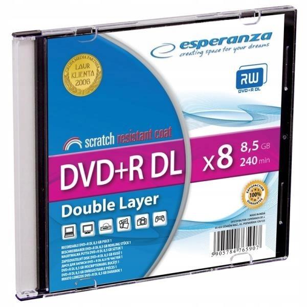 ESPERANZA 1246 - DVD+R Double Layer - karton 200
