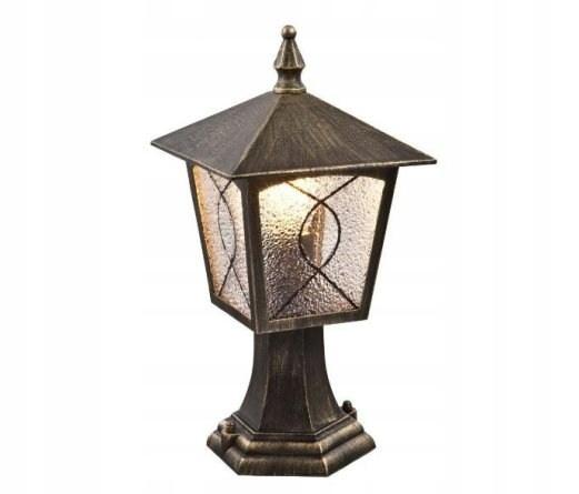 Lampa ogrodowa stojąca 37cm Lazio 2549 latarnia