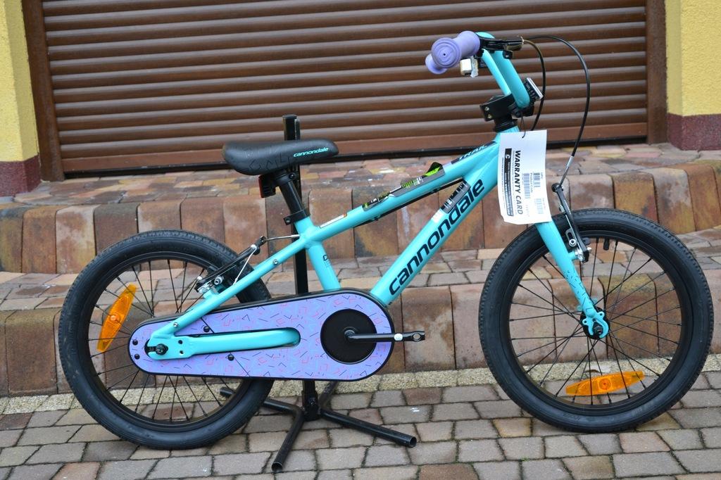 Rower dziecięcy Cannondale Trail 16`NOWY 2019