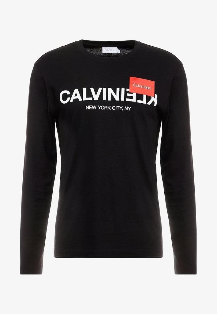 D4A319*CALVIN KLEIN BLUZKA DŁUGI RĘKAW 36 S I01